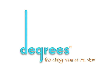 Degrees - degrees - the dining room at mt. view
