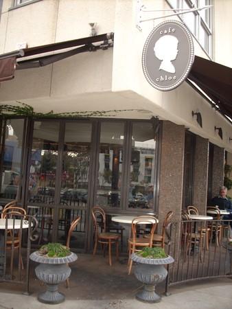 Cafe Chloe - Corner view