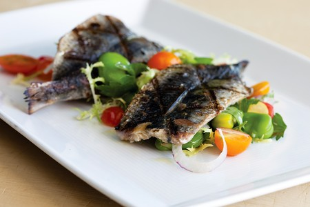 George's California Modern - Grilled Fresh Sardines