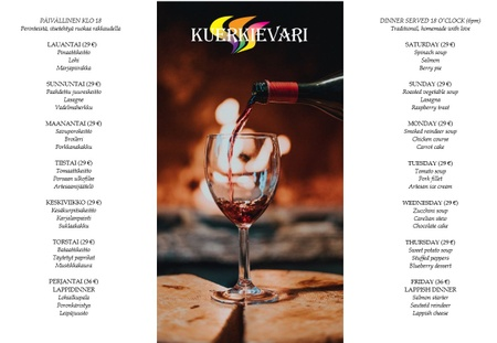 Kuerkievari - Menu winter