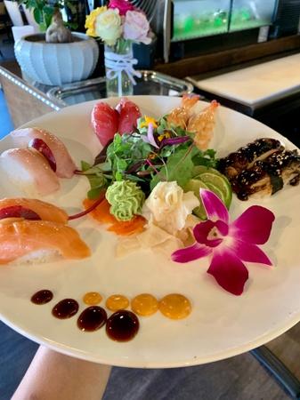 Cherrywine Modern Asian Cuisine - Marina plate