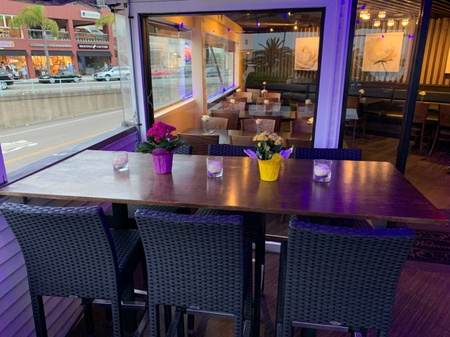Cherrywine Modern Asian Cuisine - patio