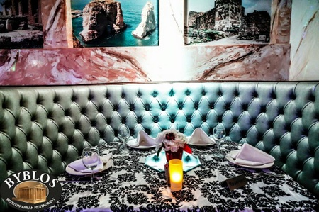 Byblos Mediterranean Restaurant & Hookah Bar - Exclusive Booth Seating At Byblos