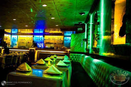 Byblos Mediterranean Restaurant & Hookah Bar - More Bar Seating