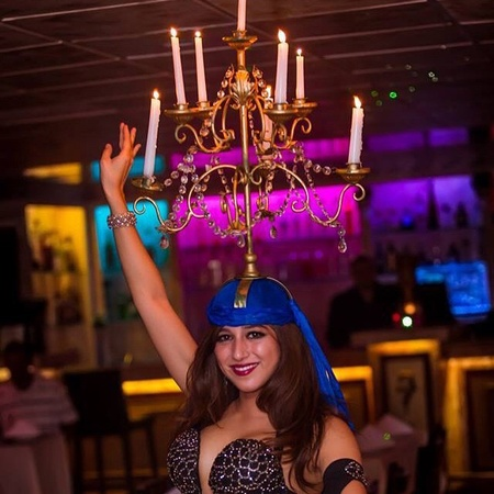 Byblos Mediterranean Restaurant & Hookah Bar - Meet Our Beautiful Belly Dancers