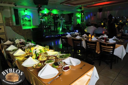 Byblos Mediterranean Restaurant & Hookah Bar - Food and Entertainment at Byblos