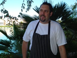 Executive Chef/Owner Christophe Ithurritze
