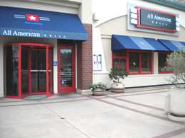 All American Grill Entrance