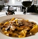 Ristorante Corleone - Pappardelle with Porcini and Mascarpone/Pecorino