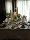 The Holly Hotel - Tea table