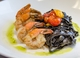 Capstone Kitchen - Squid Ink Fettuccine With Shrimp